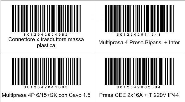 stampa etichette da file
