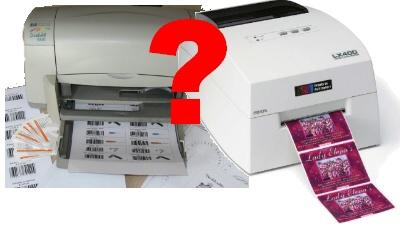 stampante etichette a rotolo