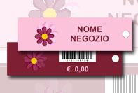 Etichetta barcode abbigliamento