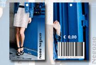 Etichetta prezzo abbigliamento