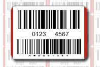 Etichetta codice EAN