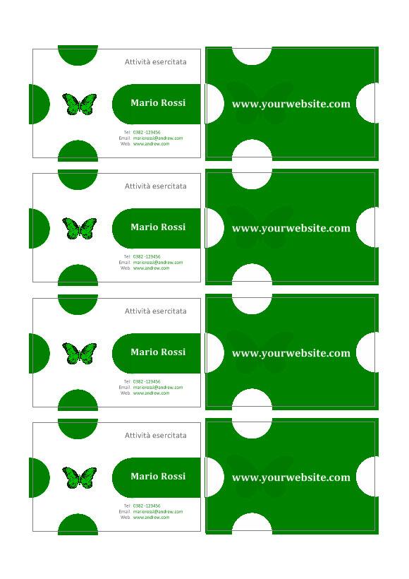 crea biglietti da visita con labeljoy