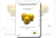 Etichetta bottiglia limoncello