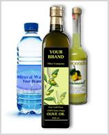 Etichetta per bottiglie