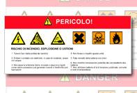 Etichetta adesiva industriale