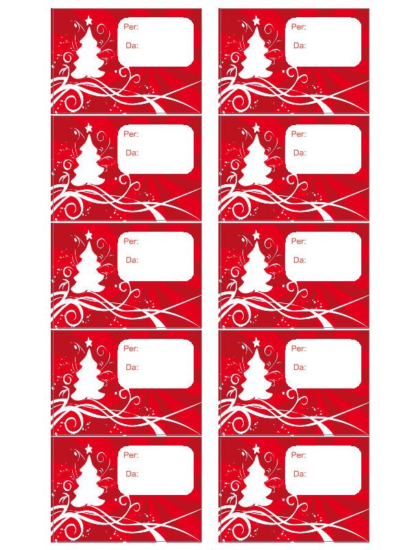 Etichette Per Regali Di Natale Da Stampare.Etichette Natale Software Per Stampa Etichette Adesive