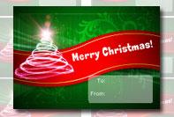 Etichetta Buon Natale