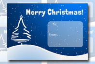 Etichetta Christmas