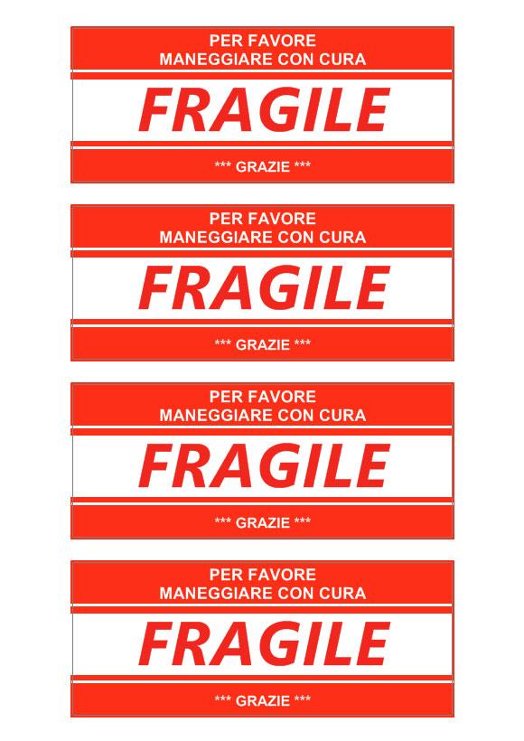 Etichetta pacco « Software per stampa etichette adesive