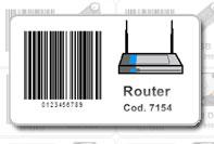 Etichetta prezzo con barcode