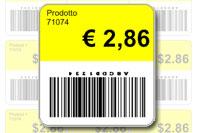 Etichetta adesiva prezzo