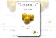 Etichetta prodotto limoncello