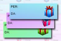 Etichetta regalo 2