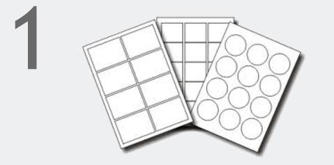 come stampare e creare etichette adesive