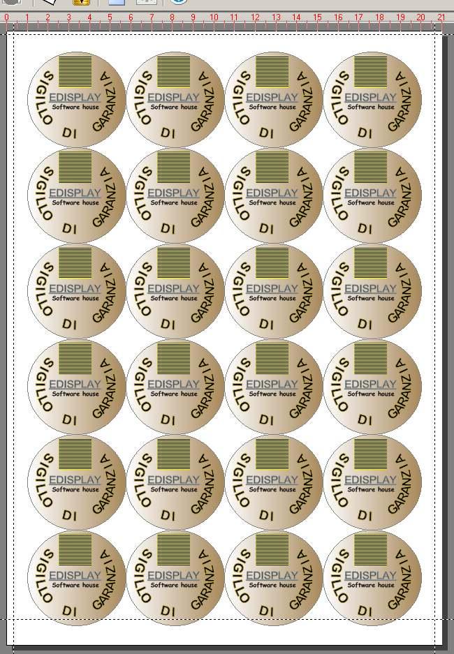 Ben noto programma per codici a barre| stampa etichette| stamapre biglietti  WE99