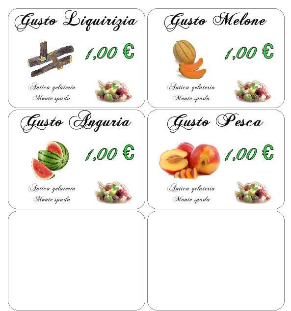 Amato Etichette per marmellate e confetture EP37